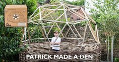 hubs are simple to snap together joints that make durable geodesic domes fun and easy to build.
