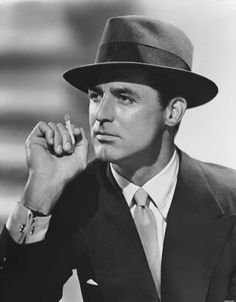 Cary Grant- yeah, a little old school, but I've always loved him