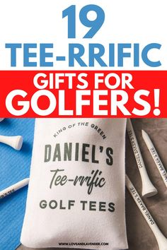 This selection of the best gift ideas for golfers is a hole-in-one! See for yourself... #golfinggifts #giftsforgolfers #giftsfordad #giftsforfathersday #golfers Best Family Gifts, Best Christmas Gifts, Holiday Fun, Best Gifts, Gifts For Your Boyfriend, Gifts For Husband, Fathers Day Gifts, Best Anniversary Gifts, Presents For Best Friends