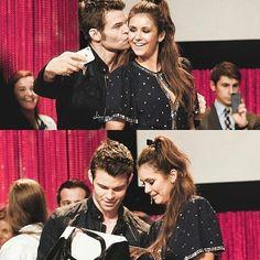 #TVD #TO The Vampire Diaries,The Originals Daniel Gillies(Elijah) & Nina Dobrev(Elena/Katherine/Amara etc..)