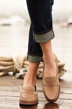 Preppy shoes...