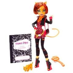 yes ... Monster High Toralei Stripe Doll with Pet Sweet Fang by Mattel  (90)Buy new:  $44.99 68 used & new from $39.49(Visit the Most Wished For in Dolls & Accessories list for authoritative information on this product's current rank.)... for me