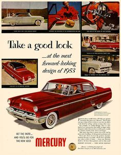 Looking Forward to that 1953 Mercury