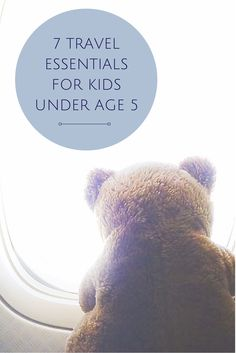 7 Travel Essentials For The Under-5 Set