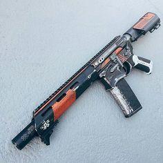 Sci-fi style machine gun. From OTAKU GANGSTA