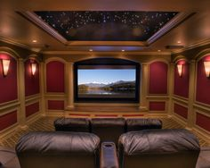 Media Room Theater Rooms Design, Pictures, Remodel, Decor and Ideas - page 7