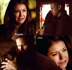 I love Elena and Alarics relationship before he died. Im so glad he's back because she's going to need him more than ever now.