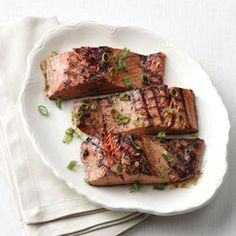 1-2-3 Grilled Salmon Recipe from Taste of Home