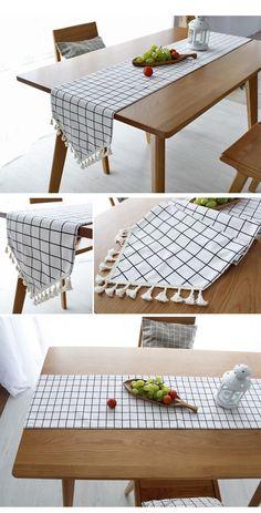 Handmade Home, Dining Table Cloth, Table Labels, Table Etiquette, Kitchen Tiles Design, Diy Casa, Diy Crafts Hacks, Home Organization, Diy For Kids
