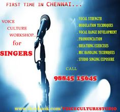VOICE CULTURE WORKSHOP: Voice Culture Workshop