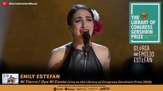 Emily Estefan - Mi Tierra / Oye Mi Canto (Live at the Library of Congres...