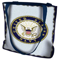 United States Navy Tote Bag