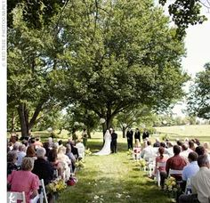 Sort of what it will be like at our wedding venue!