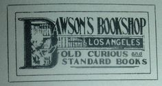 Bibliophemera: Los Angeles Booksellers of 1897 (and their labels)