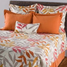 Sunset Comforter Bed Set Size: Queen by Rizzy Home. $330.00. Bedding. Bedding->Bed in a Bag Sets->Queen. Some assembly may be required. Please see product details.. Queen. BTC969Q Size: Queen Features: -Include fillers for decorative pillows, shams are flat.-Material: Cotton.-Printed and piecing details.-Machine wash separately. Includes: -Set includes: Queen or King comforter, Euro shamsEuro shams (2 for Queen, 3 for King), Standard or King shams, Decorative pillo...