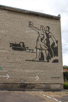 Советский Монументальная мозаика — Stock Image #12498443