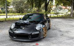 Vossen, tuning, Porsche 911, supercars, german cars, Porsche