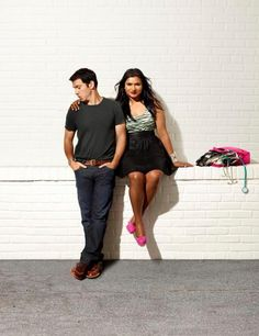 The Mindy Project... Her and Danny WILL love each other!!