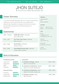 Adobe Indesign Resume Template are really great examples of resume and curriculum vitae for those who are looking for job.