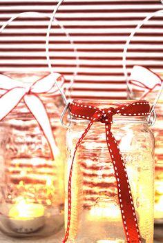 diy craft: homemade mason jar lanterns - olivet - simple, sustainable, stylish living.