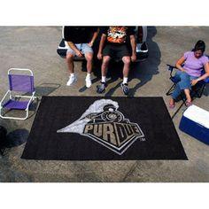 Purdue Boilermakers NCAA Ulti-Mat Floor Mat (5x8')