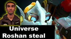 Dota 2 EG vs CDEC - Universe incredible Clockwerk hook Roshan steal - Do...