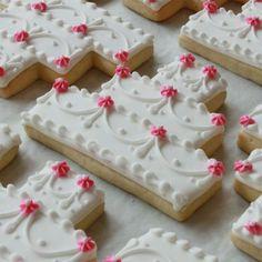 I love this cookie favor idea