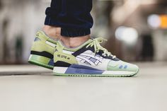 Monkey time x Asics Gel Sight 'Olive Crown' - Dreamsneakers Asics Gel Lyte Iii, Best Sneakers, Crown, Suede, Womens Slippers, Shoe Collection, Trainers, Kicks, Footwear