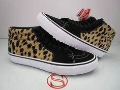128cb44d31ee83 (eBay link) DS Vans Sk8 Mid Pro SUPREME CHEETAH 10  fashion  clothing   shoes  accessories  mensshoes  athleticshoes