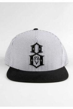 79cde13c50d Rebel8 Clothing R8 Searsucker Snapback Hat - Grey Stripe  32.00  rebel8.  TruckerDeluxe Inc. Snapbacks