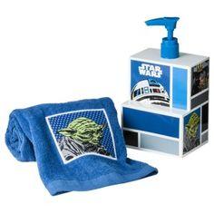 Star Wars Gift Box Soap Pump/Tip Towel   Blue