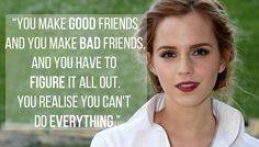 15 Of The Most Empowering Things Emma Watson Has Ever Said Emma Watson Frases, Emma Watson Quotes, Favorite Quotes, Best Quotes, Famous Quotes, Quotes To Live By, Life Quotes, Wisdom Quotes, Quotes Quotes