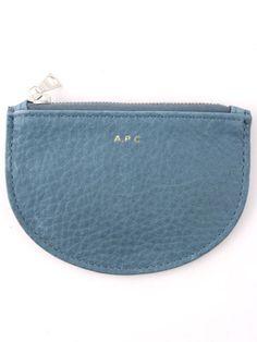 APC Grey Zip Wallet