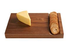Cheese board with cracker pocket!