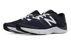 New Balance 711v2 Heathered Trainer, Black