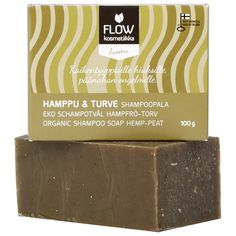 Shampoo soap for sensitive scalp by FLOW. Available at Douglas.