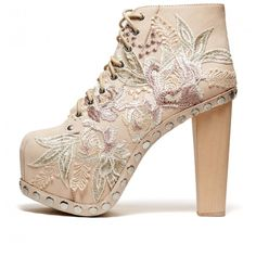 Cold Feet by Jeffrey Campbell Lita Floral', natural
