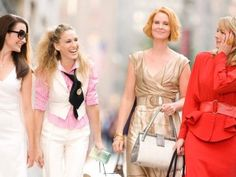 """Sex and the City. One of my all time favs. Made me feel """"normal"""" because they felt the same things I was. They just had more fun- and money!"""