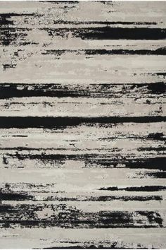 Organic lines in neutral colors for this Olefin rug by Surya. Found in the Nuage Collection Black Rug, White Rug, Black White, Contemporary Rugs, Modern Rugs, Synthetic Rugs, Interior Rugs, Interior Design, Patterned Carpet