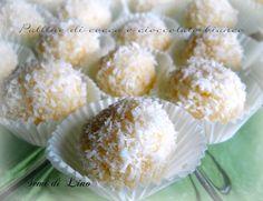 Palline alla vaniglia e cocco