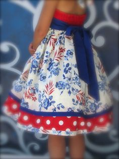 """Girls Dress """" Summer Pride """" Children's Dress Holiday 6 by Cordealinge on Etsy Cute Dresses, Girls Dresses, Patriotic Dresses, Fabric Covered Button, Easter Dress, Sewing For Kids, Holiday Dresses, Cute Babies, Kids Outfits"""