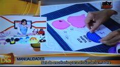 """1era Parte  video """"Set de escritorio motivo Buhitos"""""""