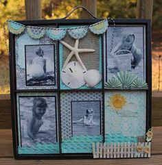 Beach Photo Tray - Scrapbook.com