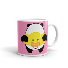 Let Pompo warm your heart while you drink your coffee! Pompo Duck Backpack (Pink) - Mug 11oz