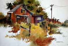 Watercolour Edgar Whitney - Google Search