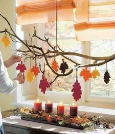 Letters - Fall Crafts For Kids Autumn Leaves Craft, Autumn Crafts, Fall Crafts For Kids, Autumn Art, Thanksgiving Crafts, Thanksgiving Decorations, Holiday Crafts, Halloween Decorations, Fall Decorations