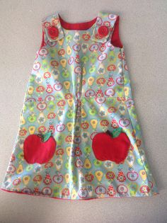 Boden style recycled child's dress - Year 10 Task 2