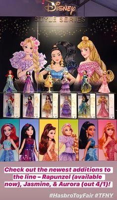 Hasbro Reveals Disney Princess Dolls, NY Toy Fair 2020