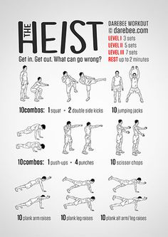 The Heist Workout