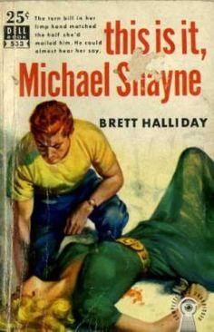 Dell Books - This Is It, Michael Shayne - Brett Halliday